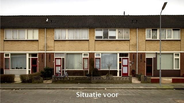 65 woningen Nederlandse buurt 1